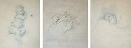 Jean-Baptiste ISABEY, Attribué à (1767 -