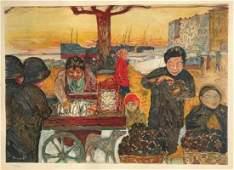 Pierre BONNARD 18671947 March233 au poisson