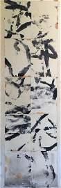 Franz KLINE (1910-1962) Sans titre - 1961 Technique mix