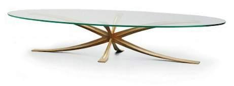 Michel MANGEMATIN, vers 1985  Importante table basse