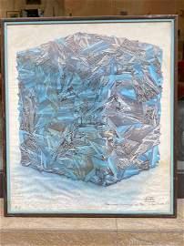 CÉSAR (1921-1998)Portrait de compression de