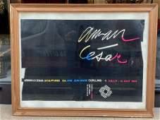 CÉSAR (1921-1998)Affiche signée de sa main63