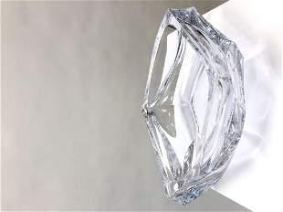 DAUM - Années 1970 Importante coupe en cristal de