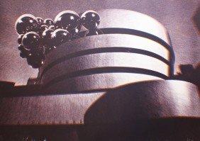 Pol BURY (1922-2005) Guggenheim, 1972  Lithographi