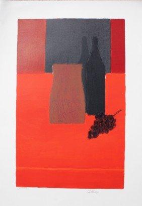 "Bernard CATHELIN (1919-2004) ""Nature Morte � La Na"