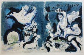 Marc CHAGALL (1887-1985) Dessins Pour La Bible. Li