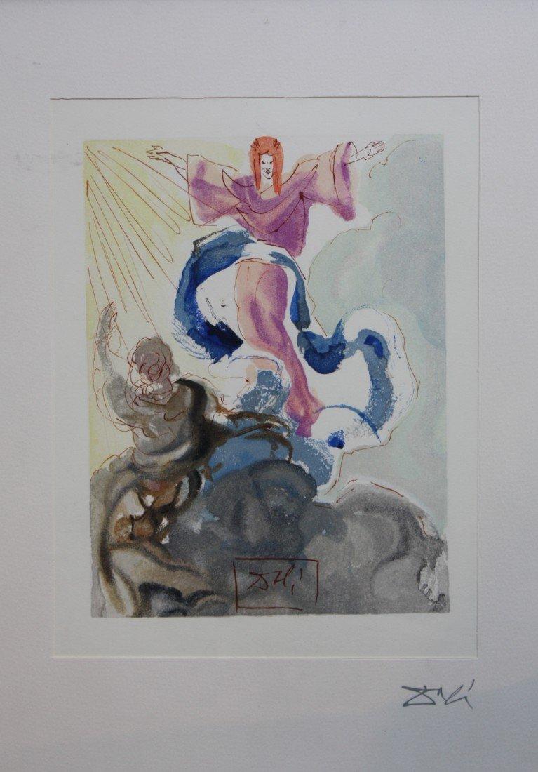 195: Salvador DALÍ (1904-1989)  Divine comédie, 1960