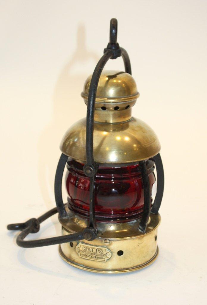 107: HERMES - 24 Faubourg Saint Honoré.  Rare lanterne