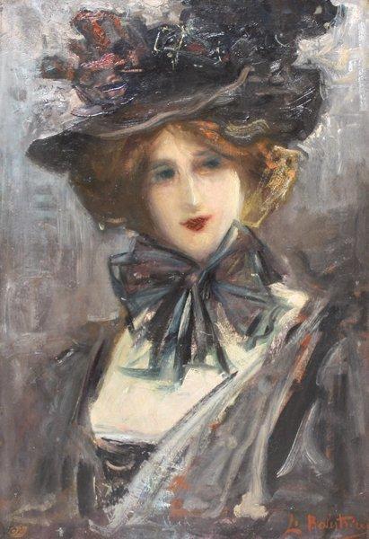 6: Lionello BALESTRIERI (1872-1958)  Portrait d'élégant