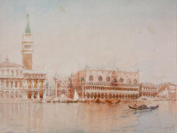 14: Emanuele BRUGNOLI (1859-1944)  Piazza San Marco - V