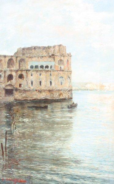 20: John Giovanni CALIFANO (1864-1946) Palais Donna Ann