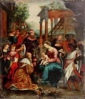 34: Ecole anversoise vers 1620, suiveur de ROTTENHAMMER