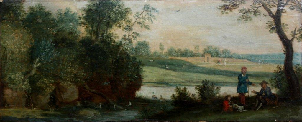 35: Isaac Van OOSTEN (1613-1661) La conversation sous l