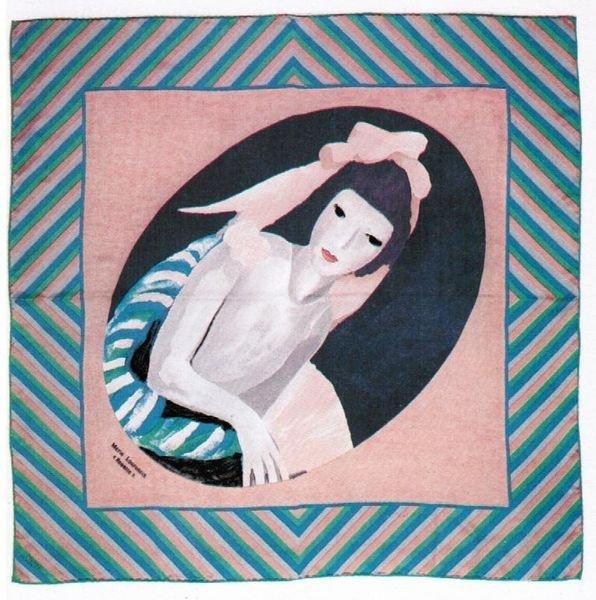 1: Marie LAURENCIN (1883-1956), d'après Rosette Foulard