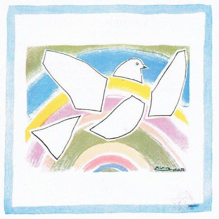 3: Pablo PICASSO (1881-1973), d'après La colombe à l'ar