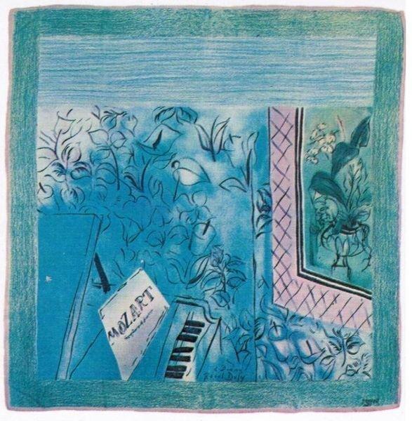 4: Raoul DUFY (1877-1953), d'après Hommage à Mozart Fou