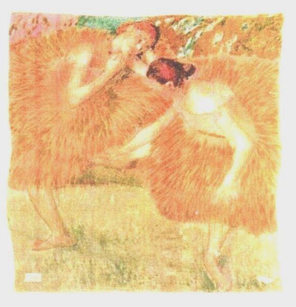 5: Edgar DEGAS (1834-1917), d'après Deux danseuses Foul