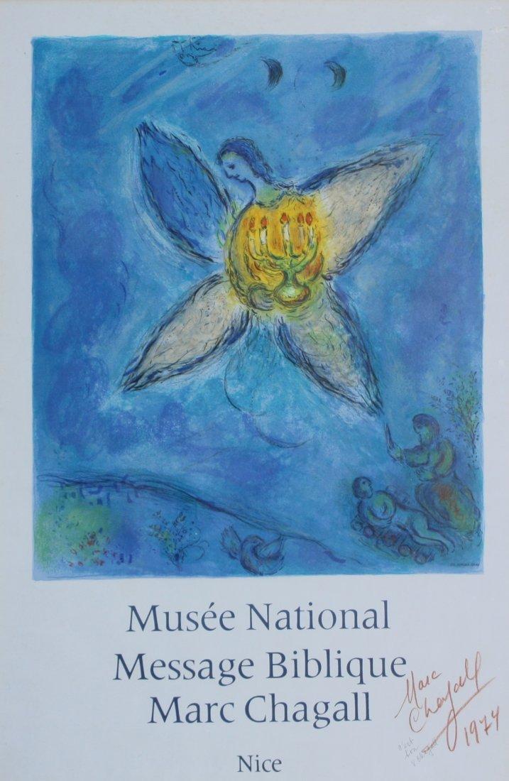 17: Marc CHAGALL (1887-1985)  L'ange au candélabre, 197