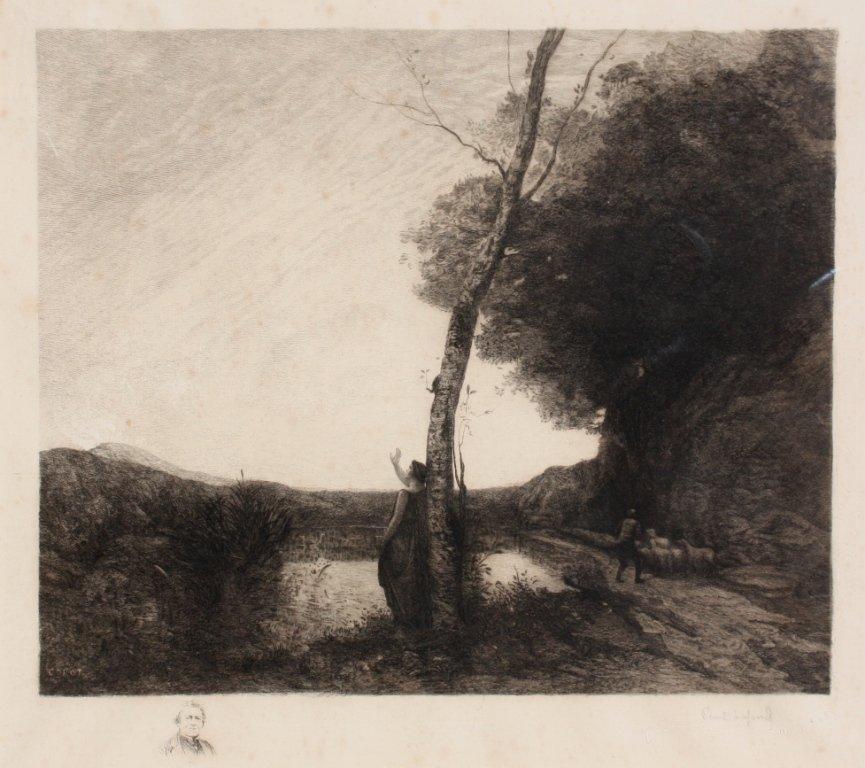 22: Camille Jean-Baptiste COROT (1796-1875), d'après Pa
