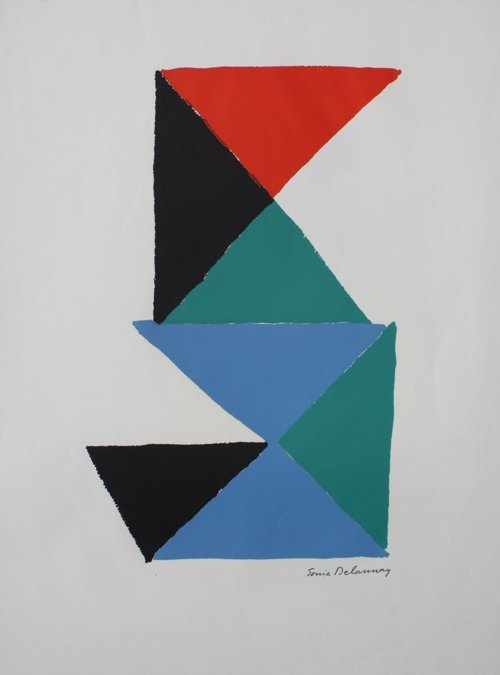 24: Sonia DELAUNAY (1885-1979)  Composition géométrique