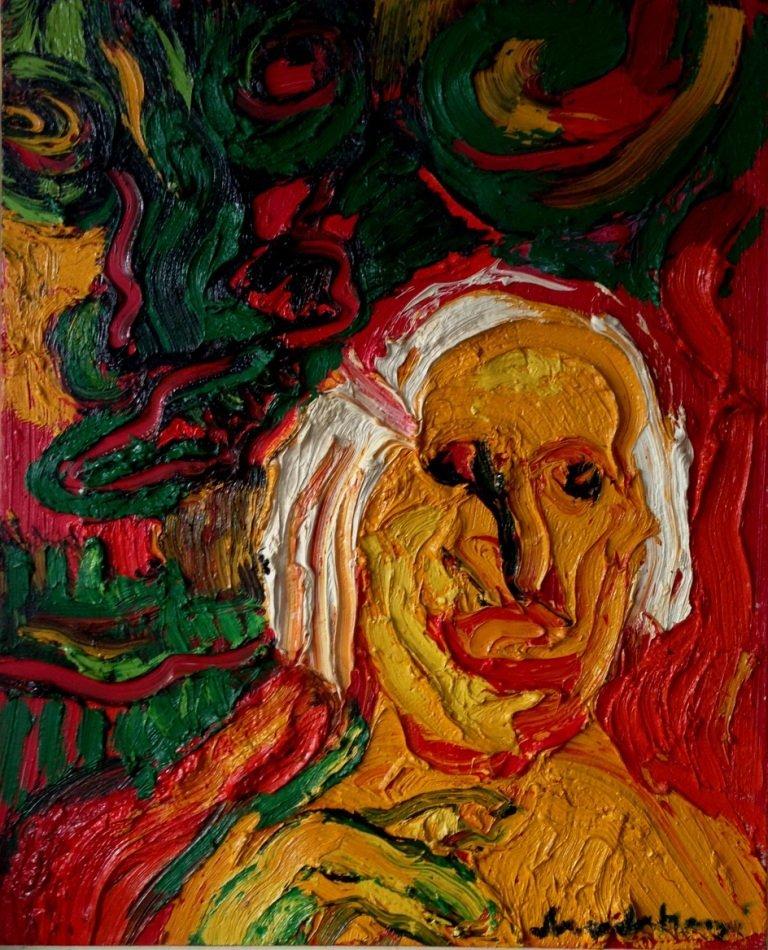 200: Bengt LINDSTRÖM (1925-2008)  Portrait de Suzy Soli