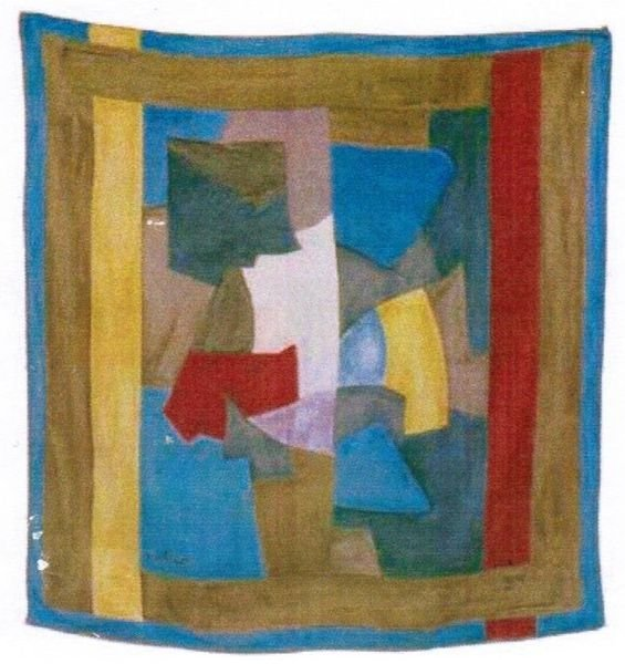 Serge POLIAKOFF (1900-1969), d'après Composition abstra