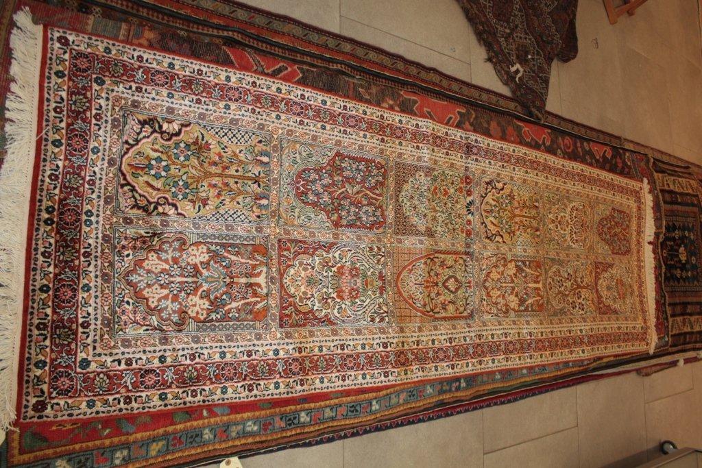 Galerie CACHEMIRE en soie naturelle (Inde) Décor jardin