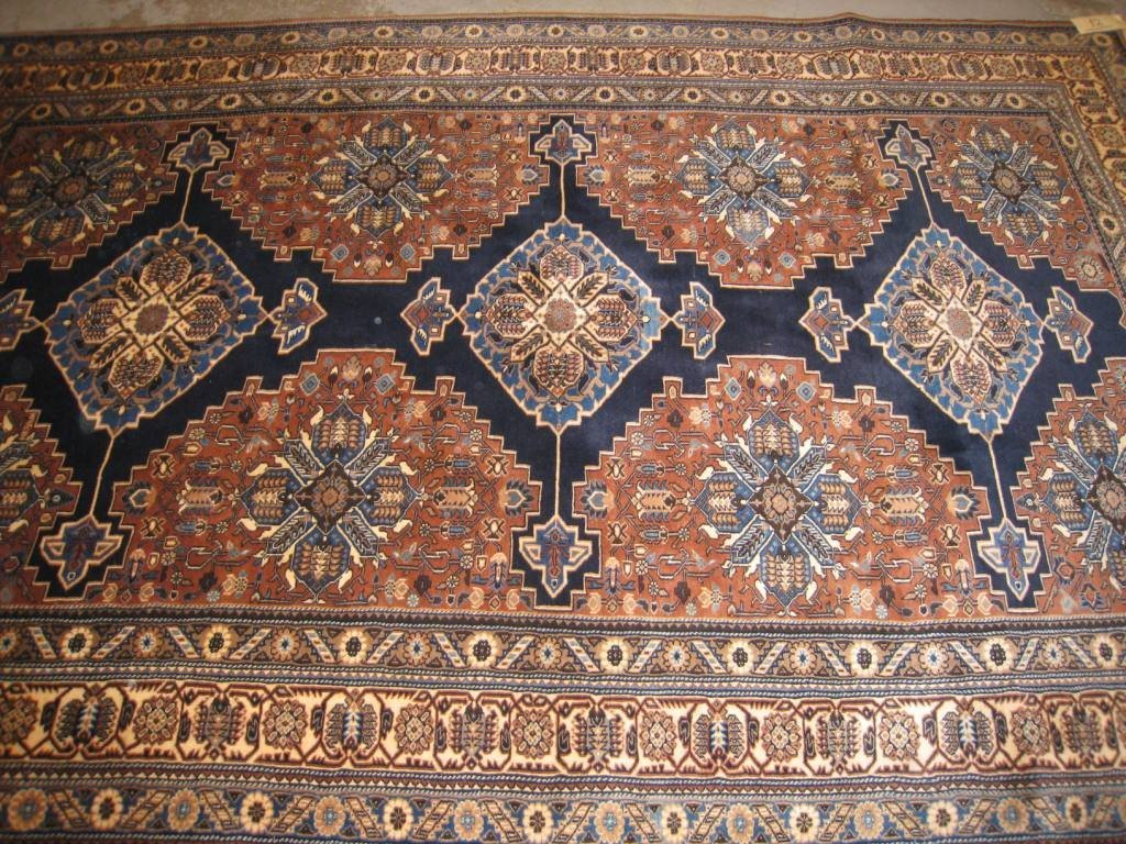YALAMEH (Iran), vers 1980, à décor géométrique 280x180c