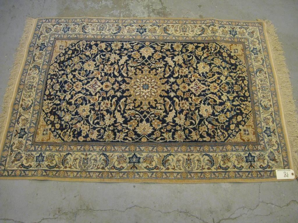 Très fin NAIN-CHICHLA (Iran), Epoque du Shah, (Atelier