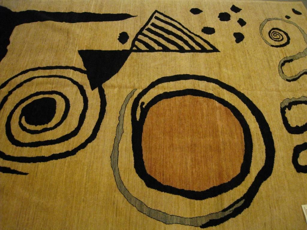 Original Tapis moderne (d'après un carton de Calder), (