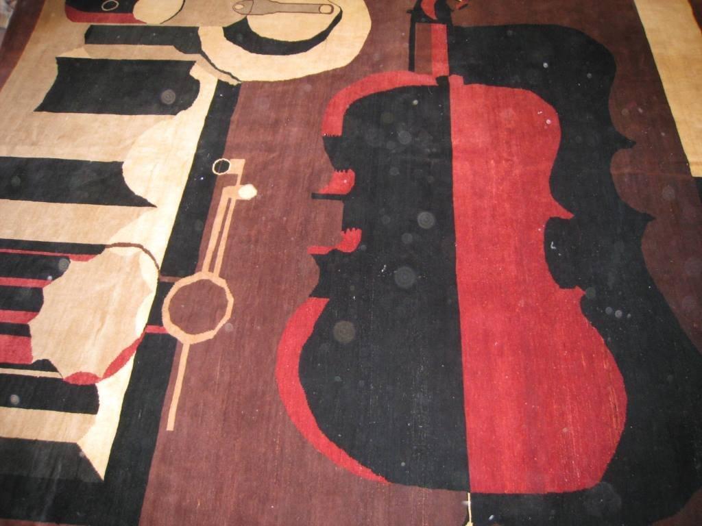 Original Tapis Moderne (Carton d'après Le Corbusier) 29