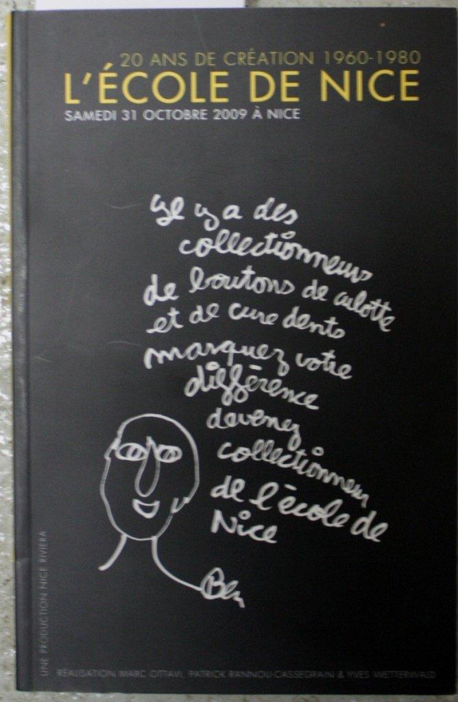 L'Ecole de Nice Catalogue de vente publique, Nice