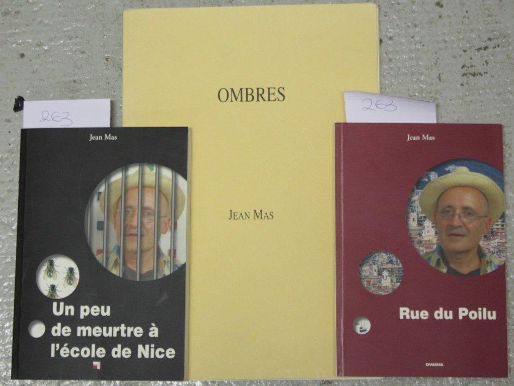 Jean MAS - Un peu de meurtre à l'école de Nice, éd.