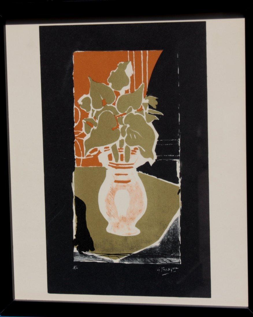 Georges BRAQUE (1882-1963), d'après Bouquet - Visage De