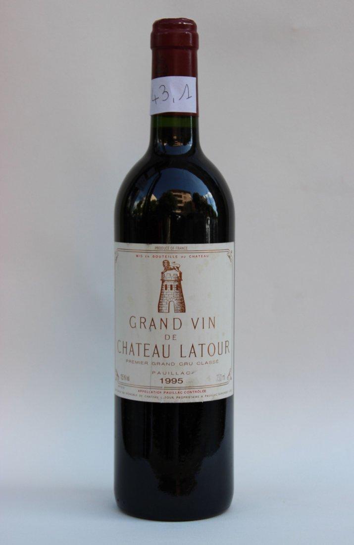 1 bouteille Château Latour 1995