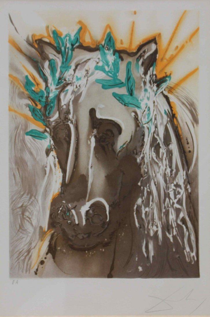 Salvador DALI (1904-1989) Le cheval de printemps de la