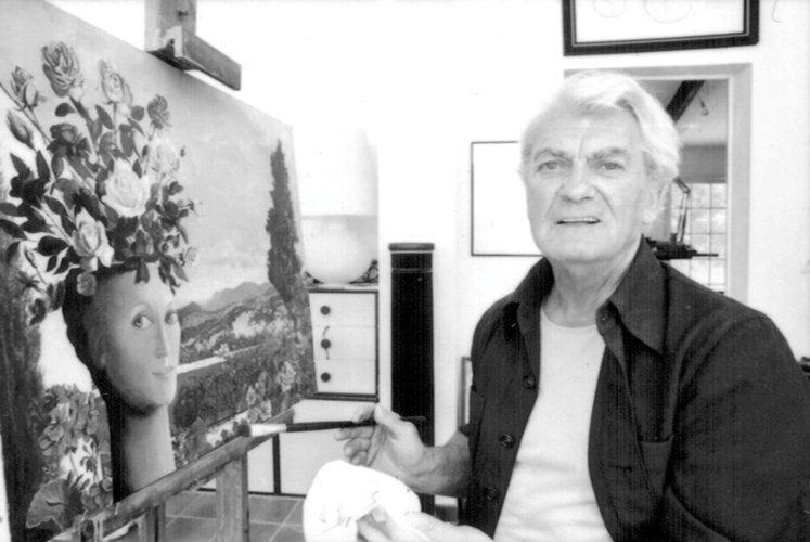 """Jean Marais (1913-1998) Gisèle Touret en """"pot aux - 2"""