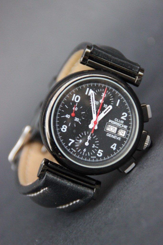 CLUB PORSCHE Montre bracelet pour homme chronographe à