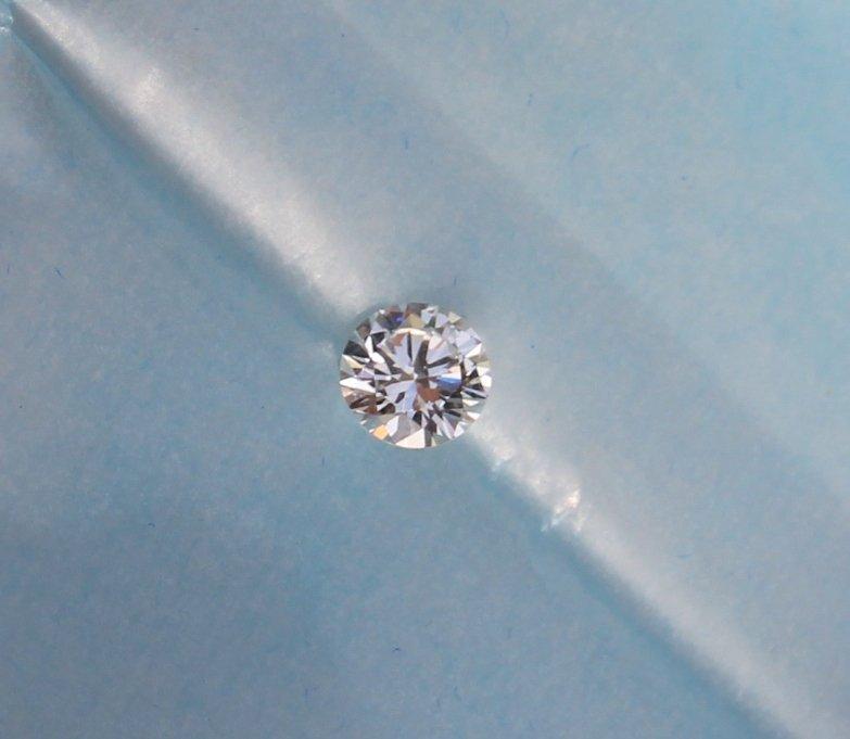 Important diamant taille brillant 1,63 cts ( pureté VS1