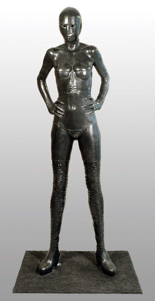 Mauro CORDA (1960) La Nuit Bronze original H: 190 cm