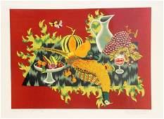 Jean PICART LE DOUX 19021982 Nature morte au faisan