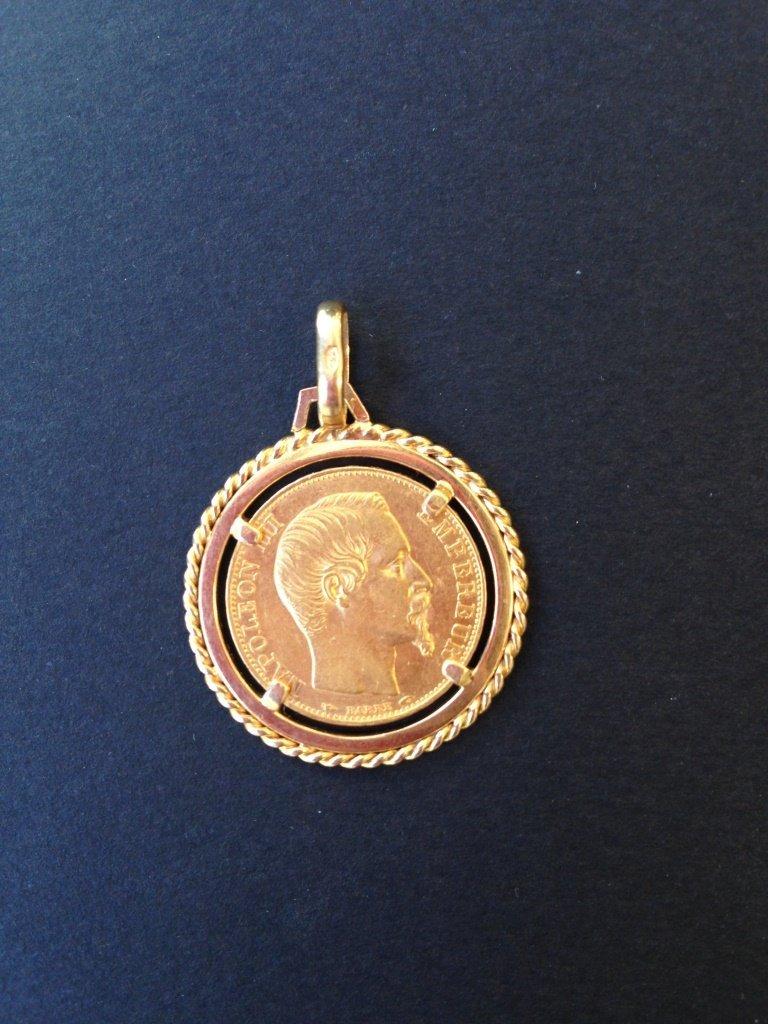 Pièce de 20 francs - Napoléon III - 1894 en or jaune