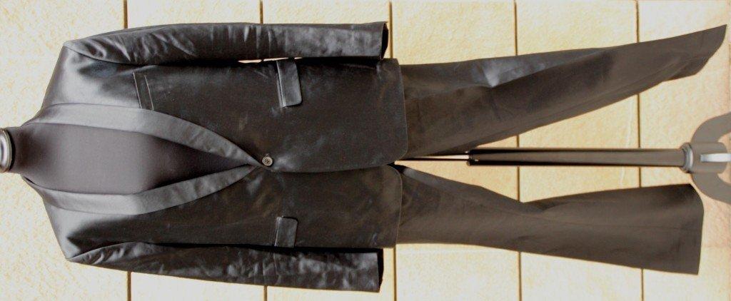 DRIES VAN NOTEN Costume pour homme en coton satiné