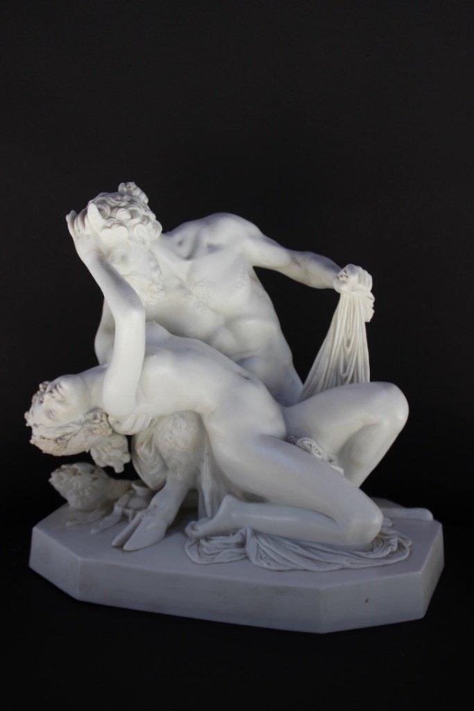 James PRADIER (1790-1852), d'après Satyre et bacchante