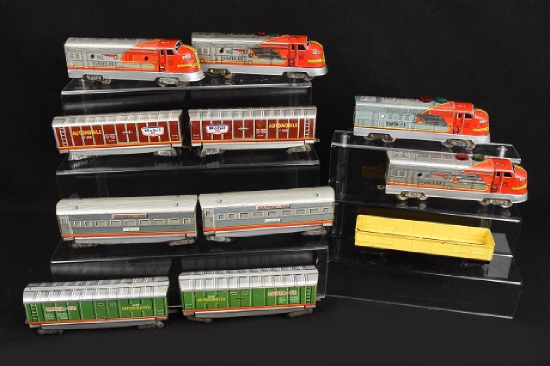 1950's Japan Tin Litho Ho Scale Train Set
