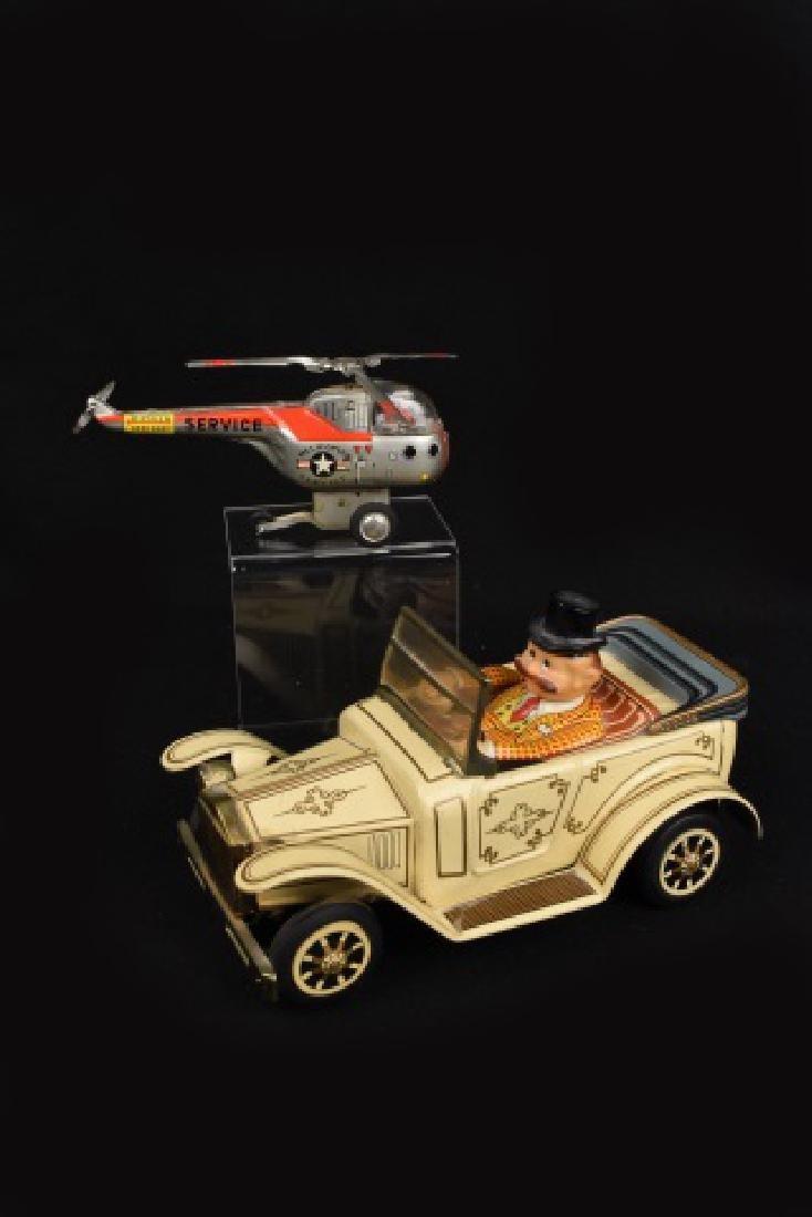 (2) Vint. Made in Japan Tin Toys - Alps Car