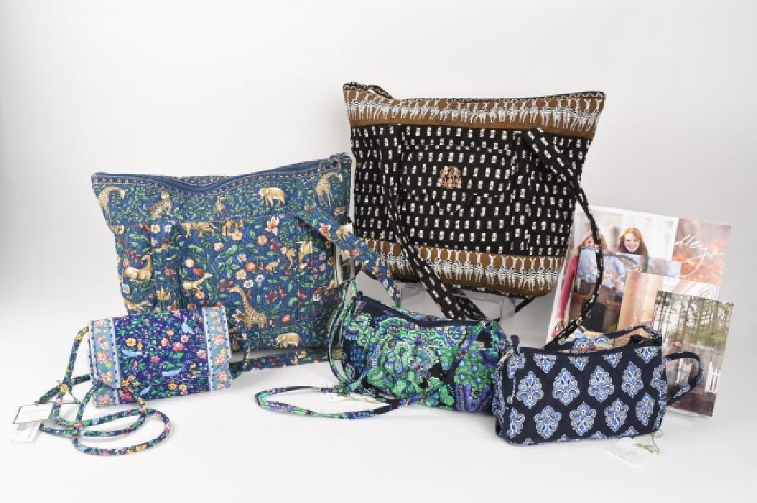 (5) NEW Vera Bradley Purses, Handbags
