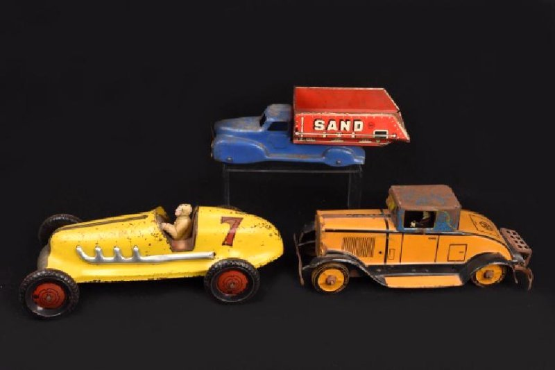 (2) Vint. Marx Children's Vehicles (1) Unknown