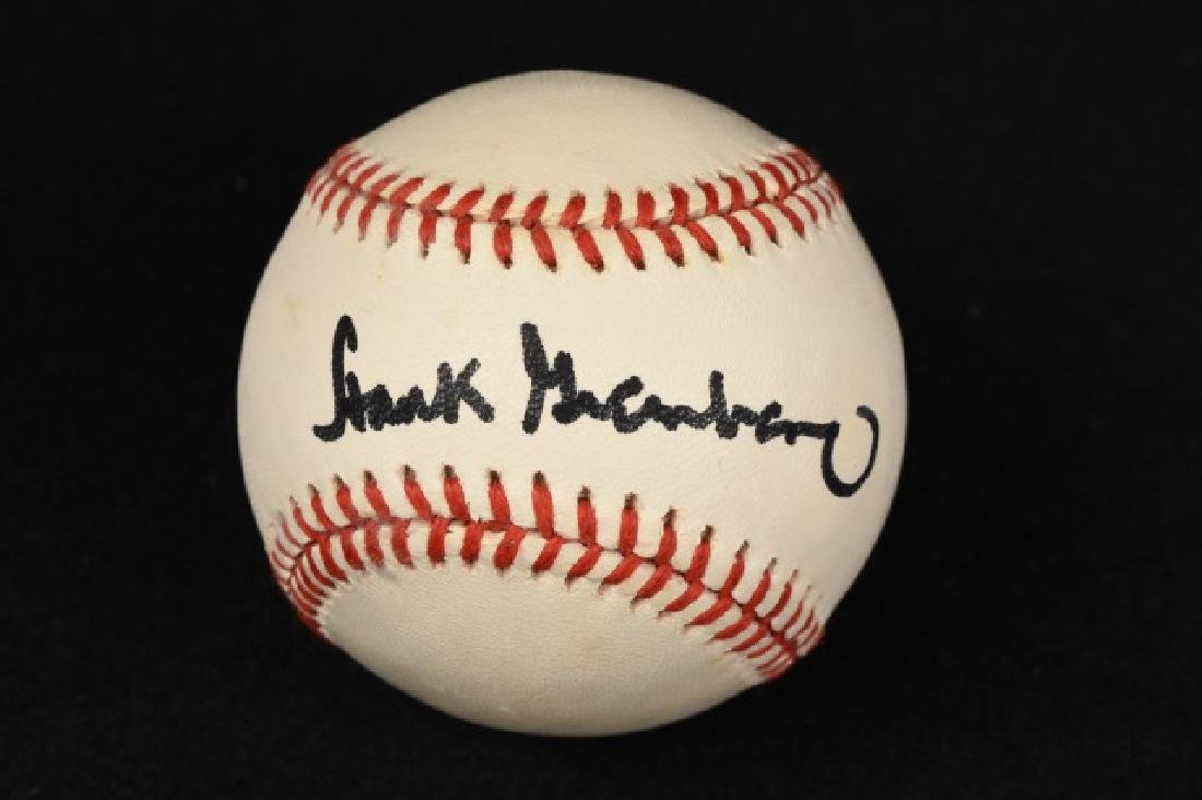 Hank Greenberg Single Signed Baseball