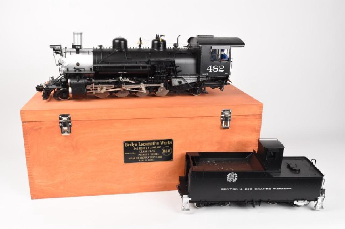Berlyn Locomotive Works D & RGW #482 K-36